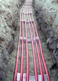 прокладка силовых кабелей. Краснокамские электрики.