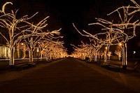 Подключение освещения зданий в Краснокамске