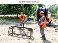 Высоковольтный кабель в Краснокамске